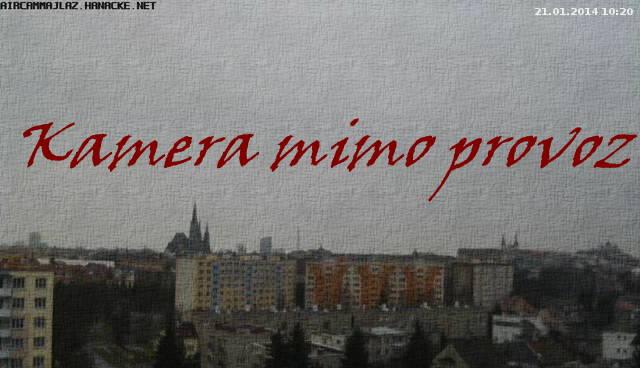 Webkamera - Olomouc Lazce